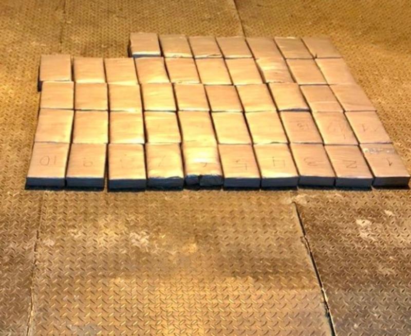 На Одещині прикордонники затримали рекордні 56,4 кг кокаїну з Еквадору