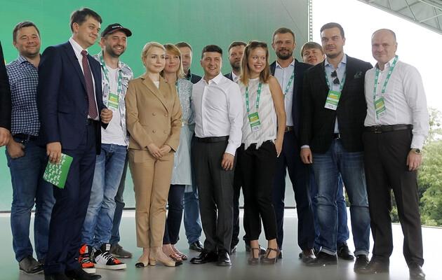 Окружной админсуд Киева просят отменить регистрацию партии «Слуга народа»