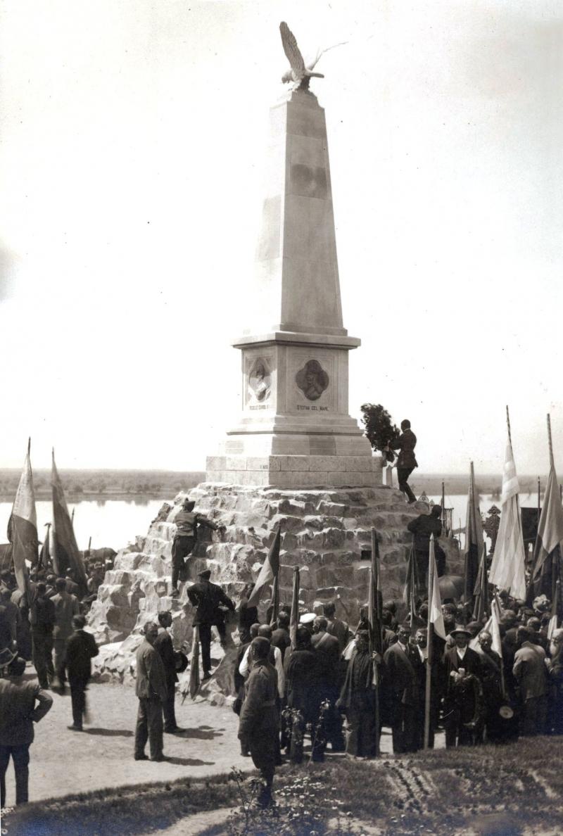 Об истории открытия Памятника героям в Измаиле