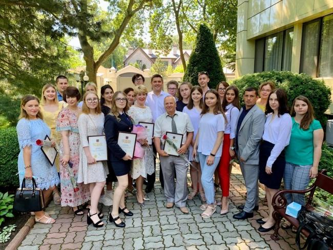 Максим Куцый встретился с выпускниками, которые набрали максимальные баллы по ВНО