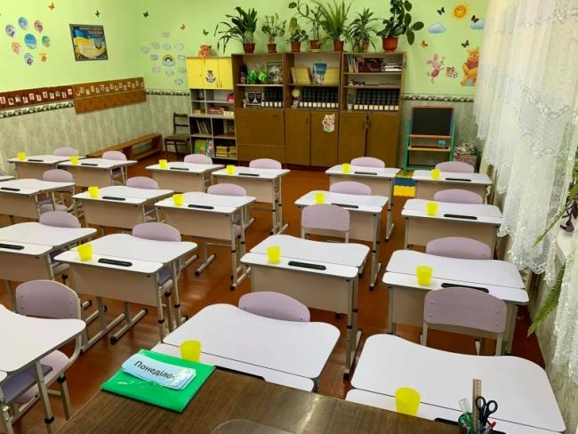 Школьники Килийщины сели за парты