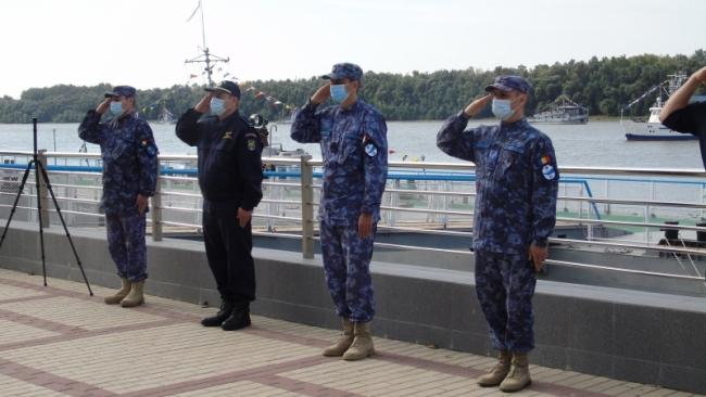 """В акватории Измаильского порта проходят украино-румынские учения """"Риверайн-2020"""""""