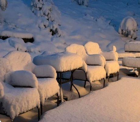 В США за сутки жару сменил сильный мороз со снегом