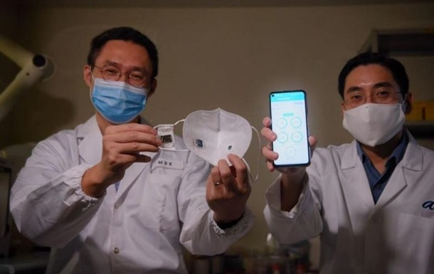 Учёные из Сингапура изобрели маску, отслеживающую симптомы коронавируса