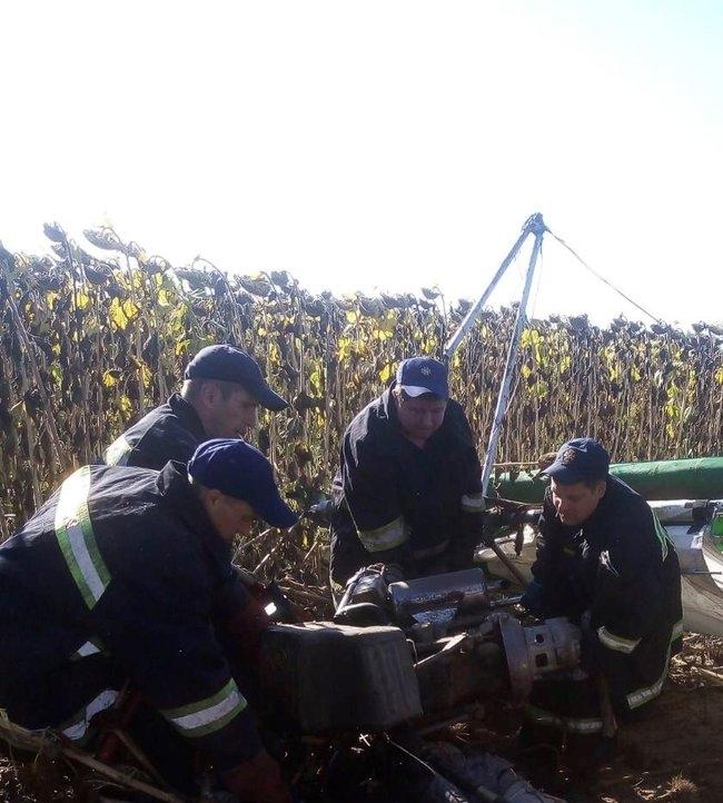 В Житомирской области разбился дельтаплан