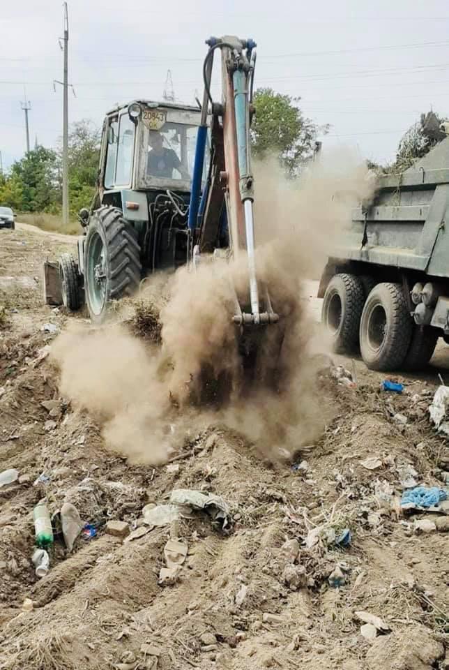 Борьба со стихийными свалками в Килии