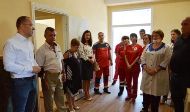 Пункт скорой помощи открыли в селе Шевченково
