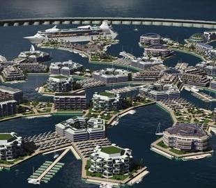 Как будет выглядеть первый город будущего на воде
