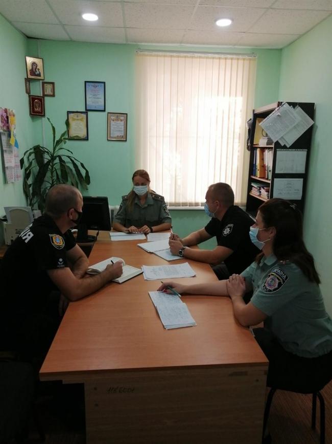 Робоча зустріч з представниками Ізмаїльського відділу поліції