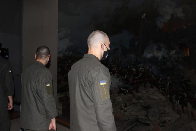 Измаильские гвардейцы посетили диораму