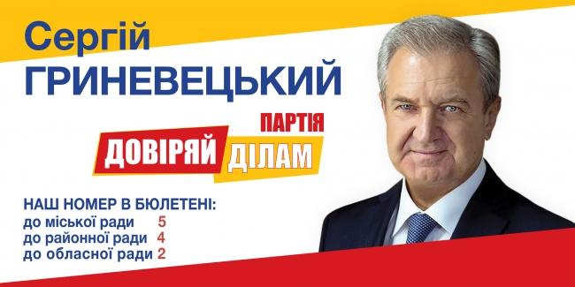 Кандидати в депутати на місцевих виборах 25 жовтня 2020 року від партії «Довіряй ділам»