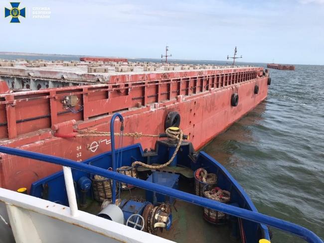 СБУ нашла 32 украденные баржи Дунайского пароходства