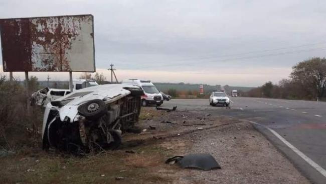 На трассе Одесса-Рени столкнулись микроавтобусы: есть жертвы и пострадавшие