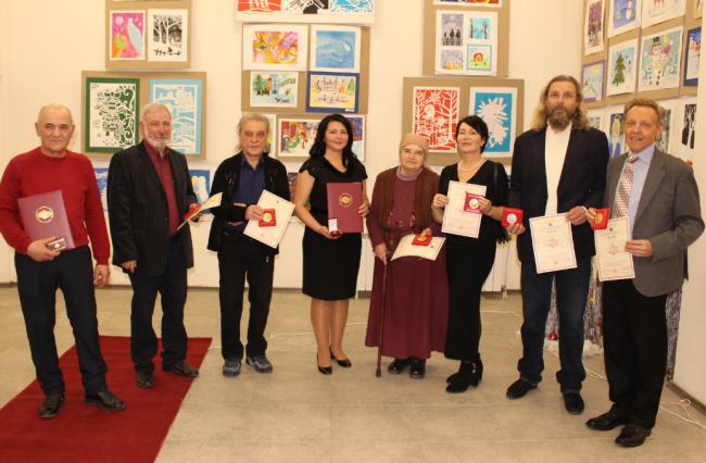 Медали от Международной Академии искусств были вручены измаильчанам, победившим в конкурсе