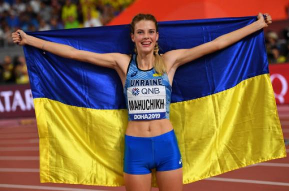 Украинка Магучих выиграла соревнования в Киеве с мировым рекордом