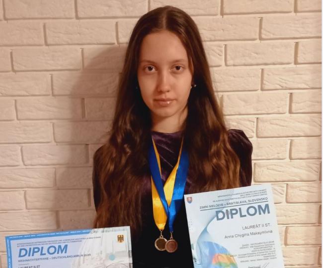 Онлайн-победы измаильской пианистки Анны Чигиной