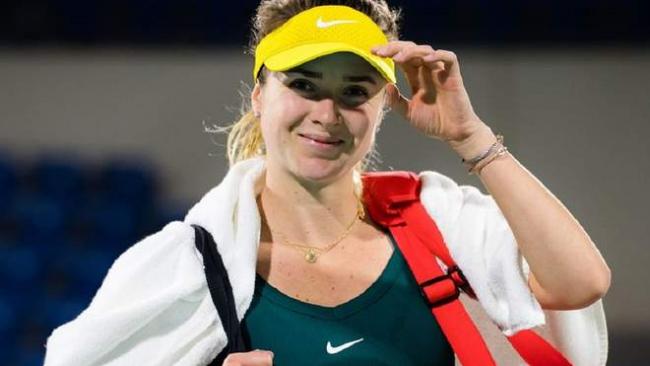 Свитолина в огненном матче драматично победила россиянку в Абу-Даби