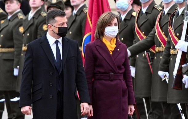 Итоги визита Майи Санду в Киев