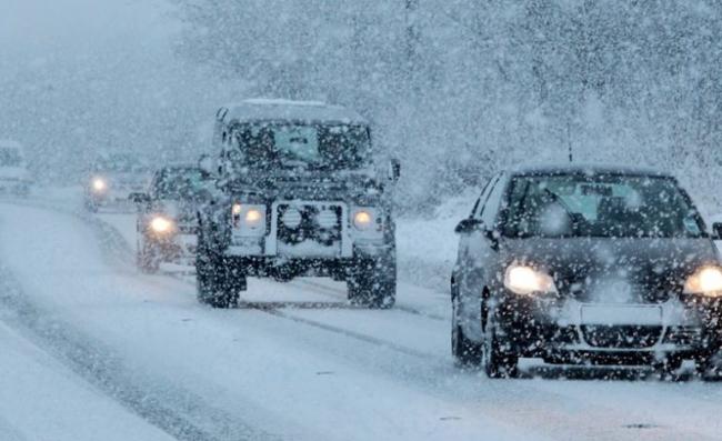 В Одесской области водители могут переждать снегопад на специальных площадках