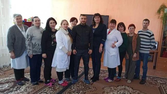 Ломаченко посетил Центр реабилитации детей в Белгороде-Днестровском