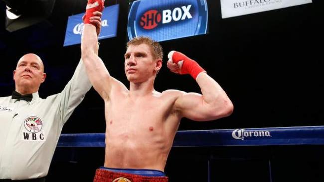 Известный украинский боксер Голуб победил нокаутом в США