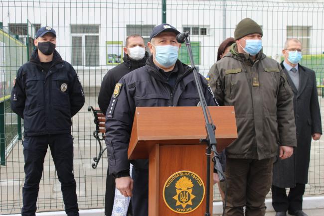 Измаильские гвардейцы принимали поздравления по случаю Дня Национальной гвардии Украины