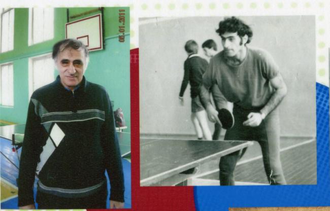 Всемирному дню настольного тенниса и всем теннисистам и тренерам Измаила посвящается