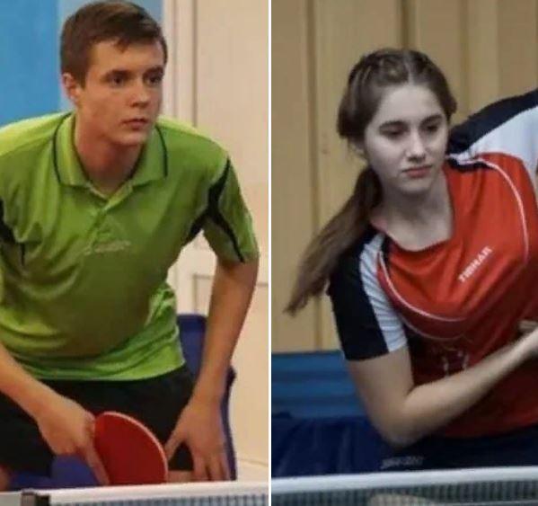 Глеб Яковлев и Полина Сибагатулина на чемпионате Украины