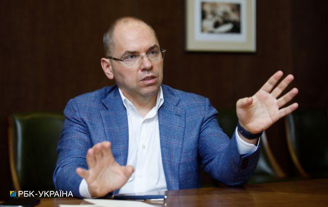 Степанов назвал минимальное число прививок в месяц для вакцинации 70% украинцев до 2022 года