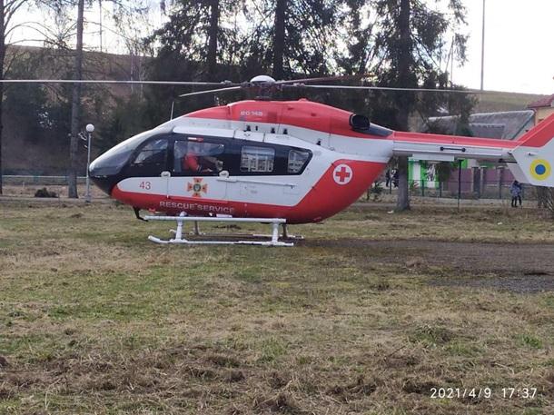 В Украине начала работу гражданская аэромедицинская эвакуация