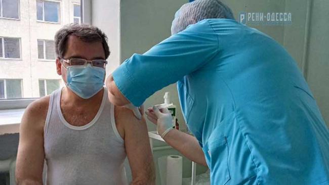 В Рени поступила первая партия вакцины от коронавируса, 60 человек уже привились