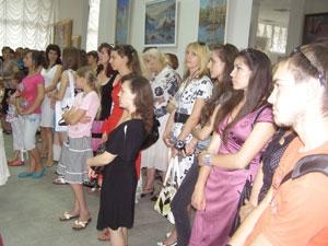 Выставка дипломников