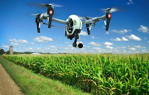 В Украине учатся опылять сады с помощью дронов