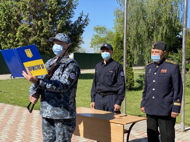 39 морських прикордонників присягнули на вірність і відданість українському народові