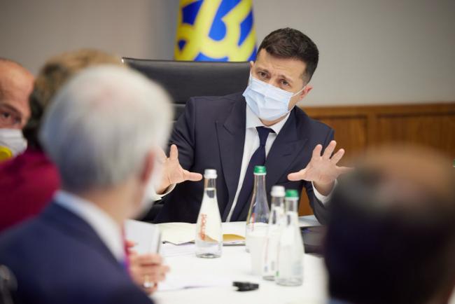 """Зеленский обсудил противодействие реализации проекта """"Северный поток – 2"""""""