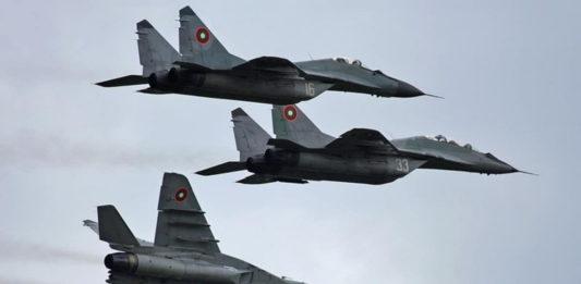 В Болгарии упал в Чёрное море истребитель МиГ-29