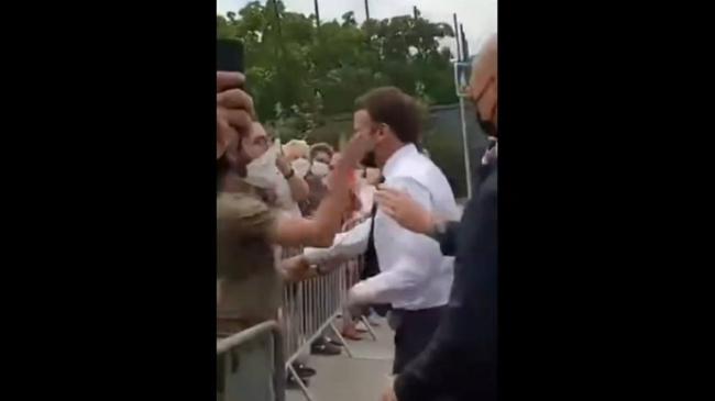 Пощёчина президенту Франции: новые подробности