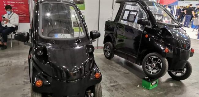 В Украине представили два недорогих электромобиля отечественной разработки (фото)