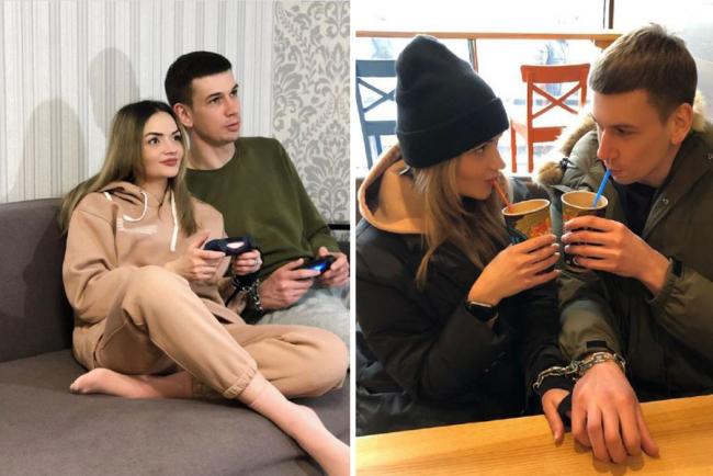 Влюбленные из Харькова, которые сковали себя цепью, заявили о расставании