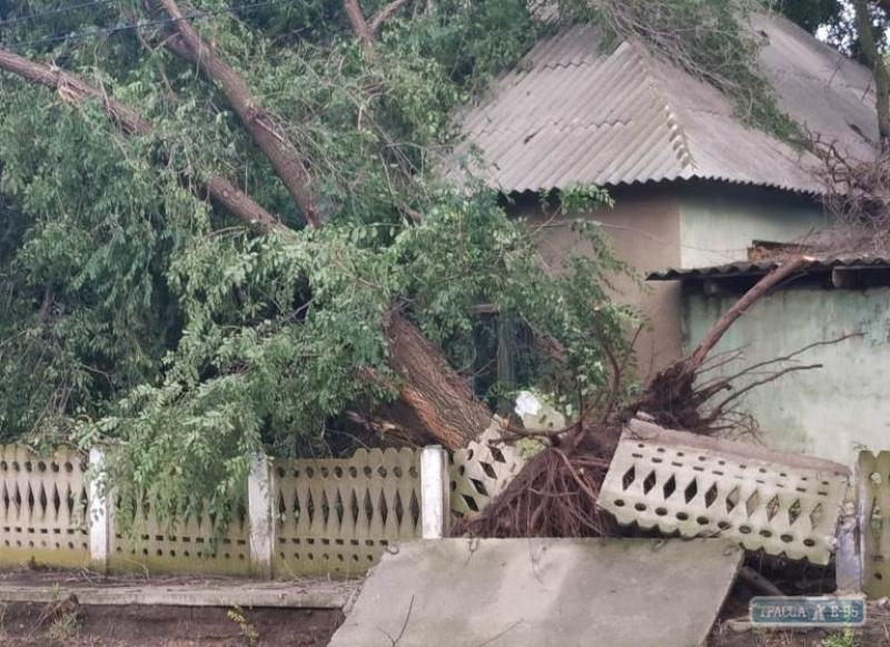 Сёла Одесской области пострадали от урагана