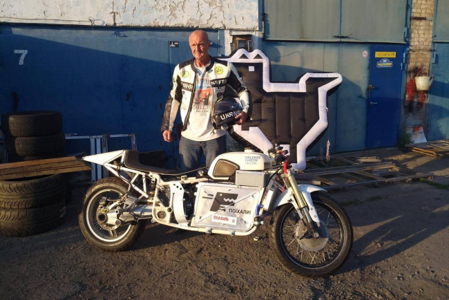 "На базе легендарного мотоцикла ""Днепр"" украинец создал электробайк Delfast-Dnepr Electric"