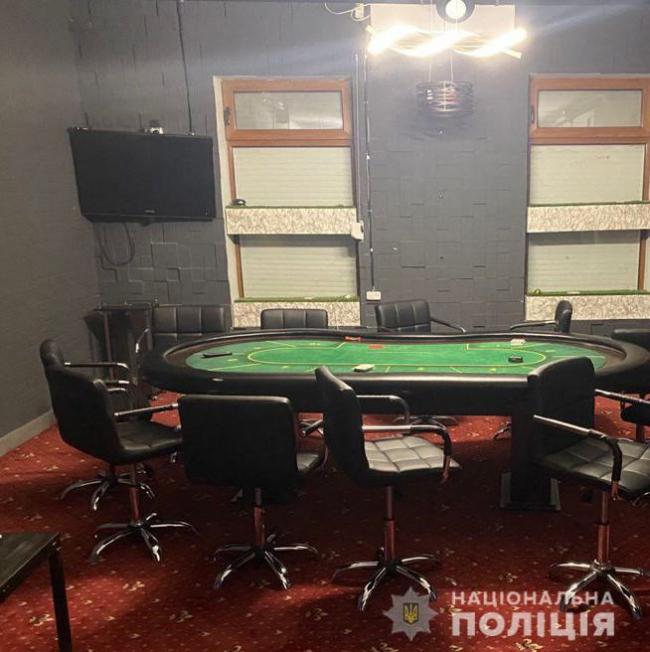 В Измаиле накрыли подпольное казино