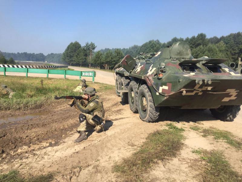 Військовослужбовці Ізмаїльського загону пройшли ротні тактичні навчання в рамках JMTG-U, що тривають на Львівщині
