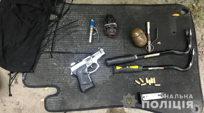 У жителя Болградского района, причастного к разбойным нападениям, изъяли арсенал оружия