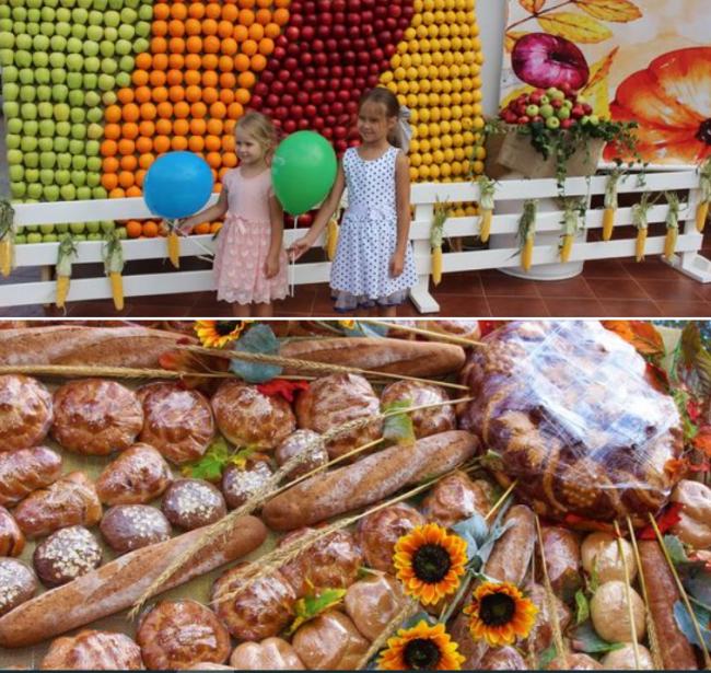 День благодарения на площади перед Дворцом культуры: измаильские дети были в восторге!