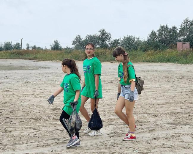 Эко-акция: на побережье Чёрного моря и в дельте Дуная трудились волонтёры