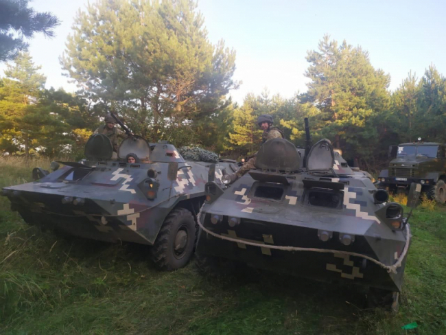 Військовослужбовці Ізмаїльського загону завершили курс навчання в рамках JMTG-U, що проходили на Львівщині