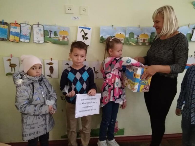 Килийские школьники присоединились к Всеукраинской акции помощи онкобольным детям