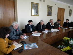 Мэр принял делегацию из Болгарии