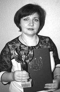 Наталья Костусева - женщина года Одесской области